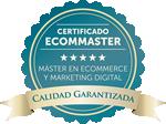Certificado Calidad Garantizada Ecommaster