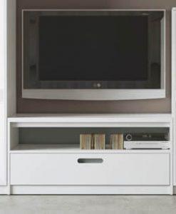 Mueble Tv. Hueco + Cajón Lacado Mate (Salón Urban 2)