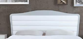 Cabecero Tapizado Horizontal y Lacado Lago (Dormitorio Urban 5)