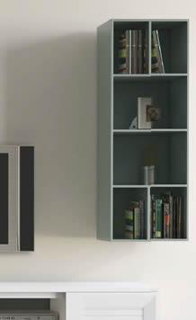 Mueble Librería de Colgar Lacado Mate (Salón Urban 5)